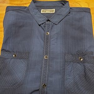 INC Detail Shirt With Adjustable Sleeves
